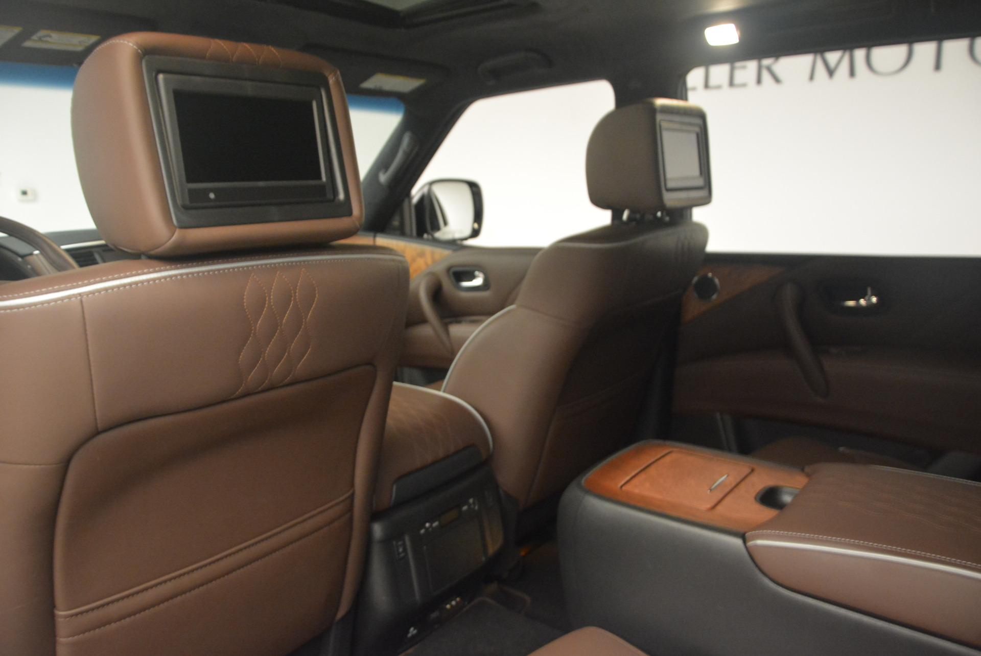 Used 2015 INFINITI QX80 Limited 4WD | Greenwich, CT