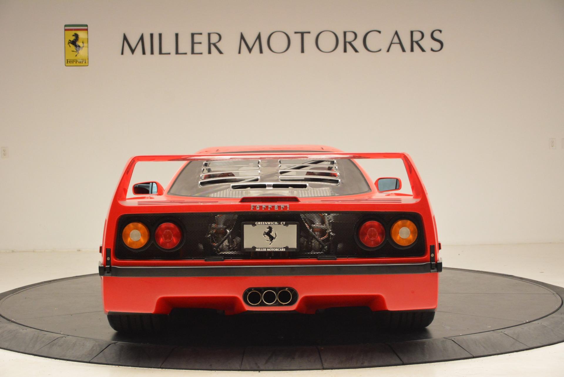Used 1992 Ferrari F40    Greenwich, CT