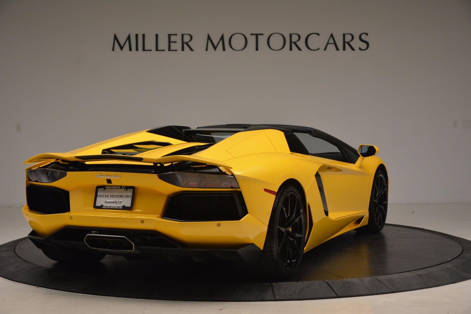 Used 2015 Lamborghini Aventador LP 700-4 Roadster   Greenwich, CT