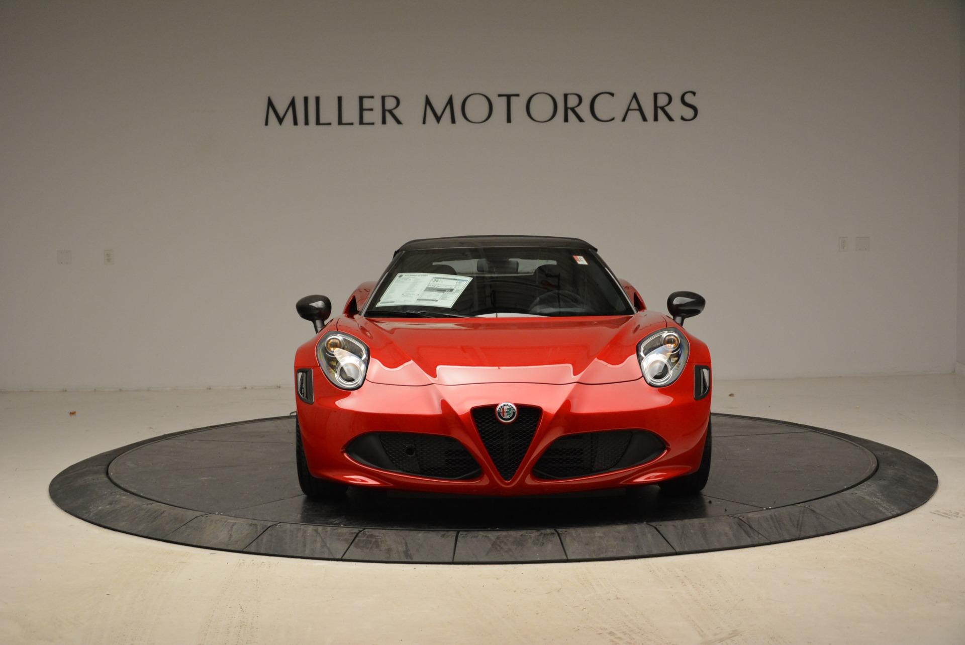 New 2018 Alfa Romeo 4C Spider   Greenwich, CT