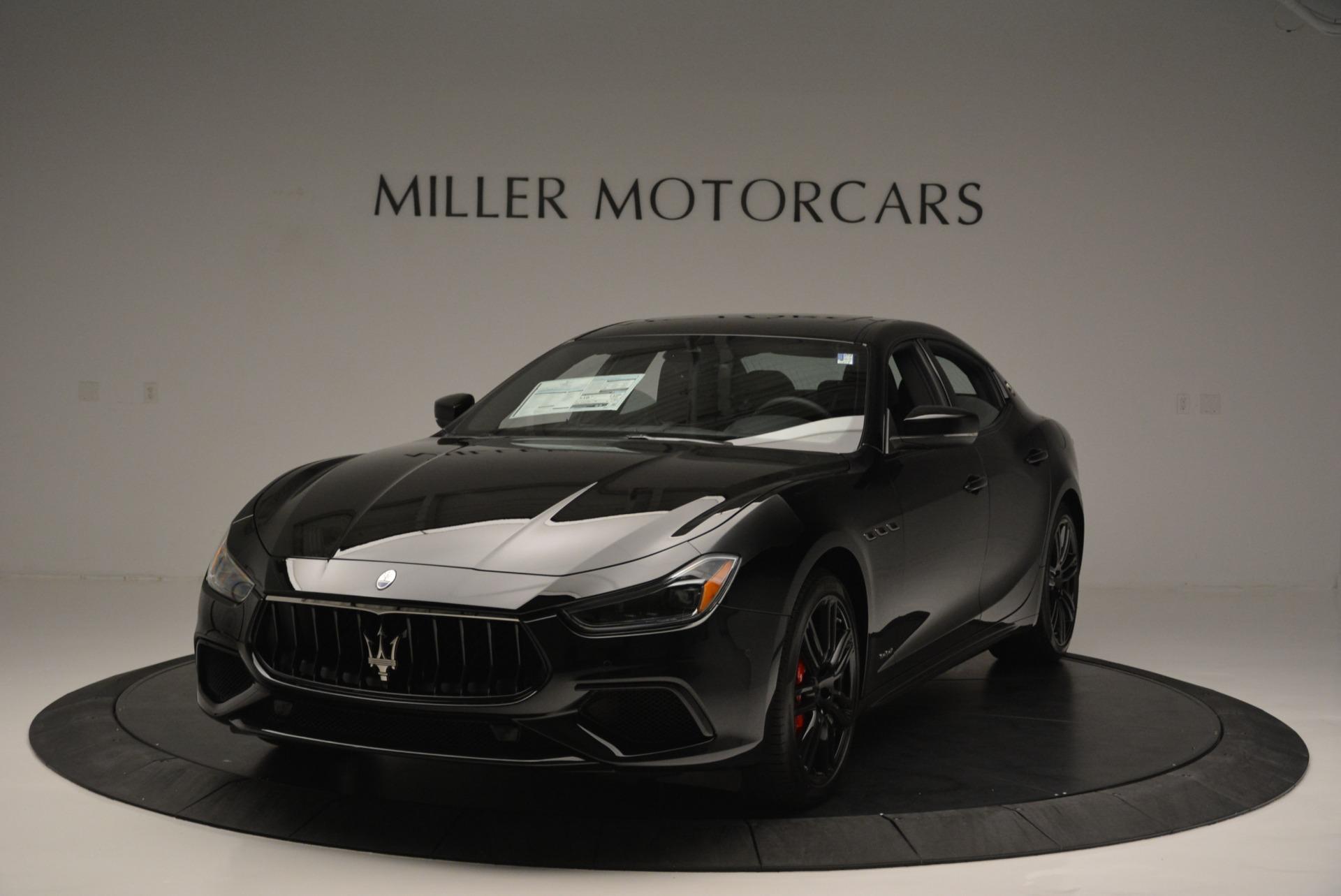 New 2018 Maserati Ghibli SQ4 GranSport Nerissimo   Greenwich, CT