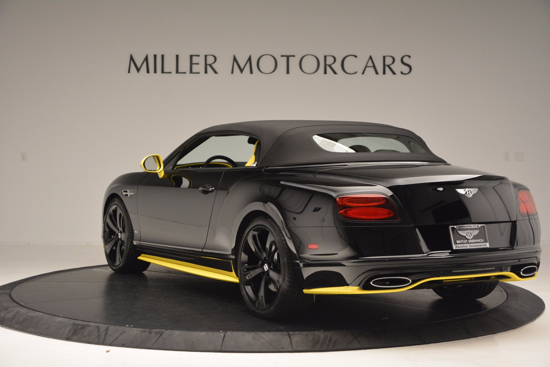 New 2017 Bentley Continental GT Speed Black Edition Convertible    Greenwich, CT