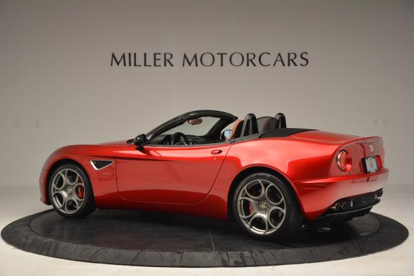Used 2009 Alfa Romeo 8C Competizione Spider for sale $353,900 at McLaren Greenwich in Greenwich CT 06830 4
