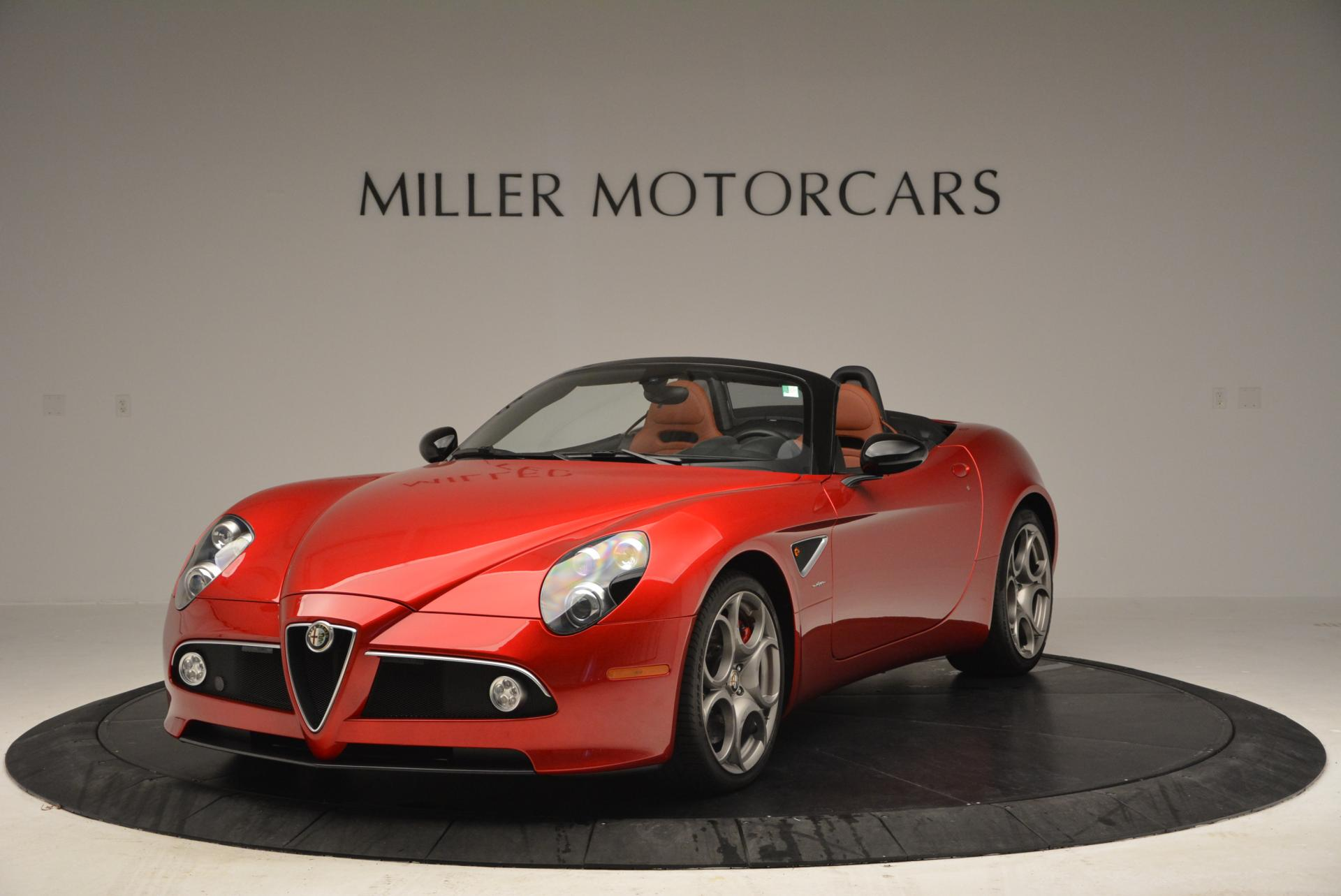 Used 2009 Alfa Romeo 8C Competizione Spider for sale $353,900 at McLaren Greenwich in Greenwich CT 06830 1