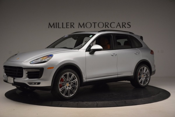Used 2016 Porsche Cayenne Turbo for sale Sold at McLaren Greenwich in Greenwich CT 06830 2