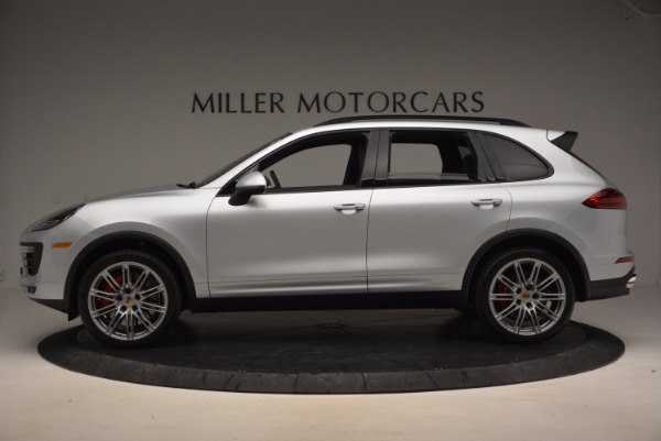 Used 2016 Porsche Cayenne Turbo for sale Sold at McLaren Greenwich in Greenwich CT 06830 3