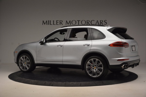 Used 2016 Porsche Cayenne Turbo for sale Sold at McLaren Greenwich in Greenwich CT 06830 4