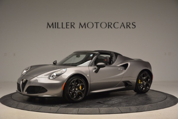 New 2016 Alfa Romeo 4C Spider for sale Sold at McLaren Greenwich in Greenwich CT 06830 2