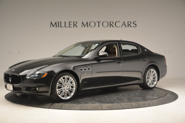 Used 2013 Maserati Quattroporte S for sale Sold at McLaren Greenwich in Greenwich CT 06830 2