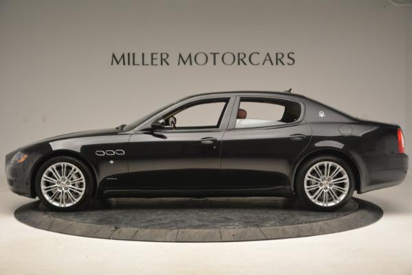 Used 2013 Maserati Quattroporte S for sale Sold at McLaren Greenwich in Greenwich CT 06830 3