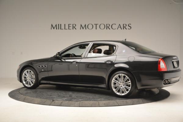 Used 2013 Maserati Quattroporte S for sale Sold at McLaren Greenwich in Greenwich CT 06830 4