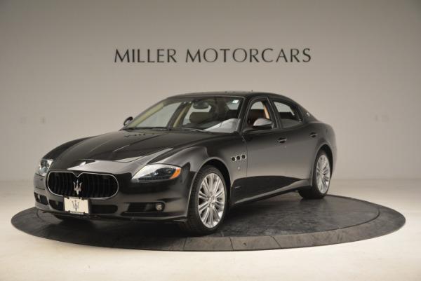 Used 2013 Maserati Quattroporte S for sale Sold at McLaren Greenwich in Greenwich CT 06830 1