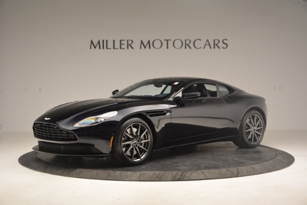 Used 2017 Aston Martin DB11 V12 Coupe for sale Sold at McLaren Greenwich in Greenwich CT 06830 1