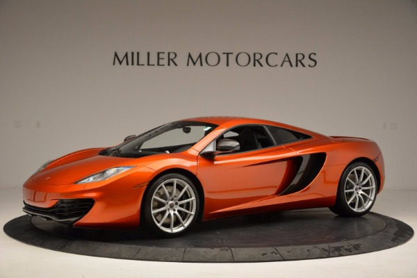 Used 2012 McLaren MP4-12C for sale Sold at McLaren Greenwich in Greenwich CT 06830 2