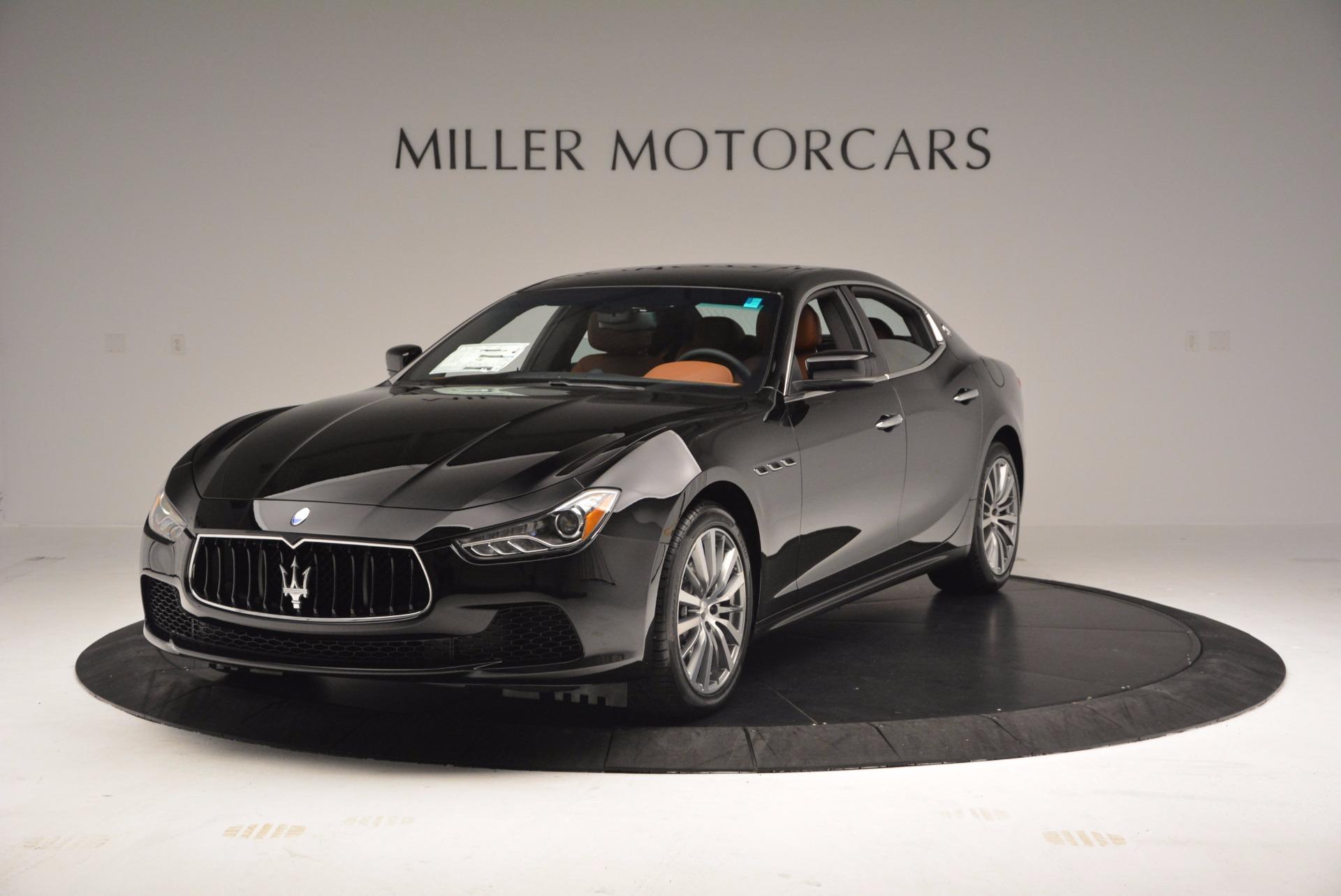 New 2017 Maserati Ghibli SQ4 for sale Sold at McLaren Greenwich in Greenwich CT 06830 1