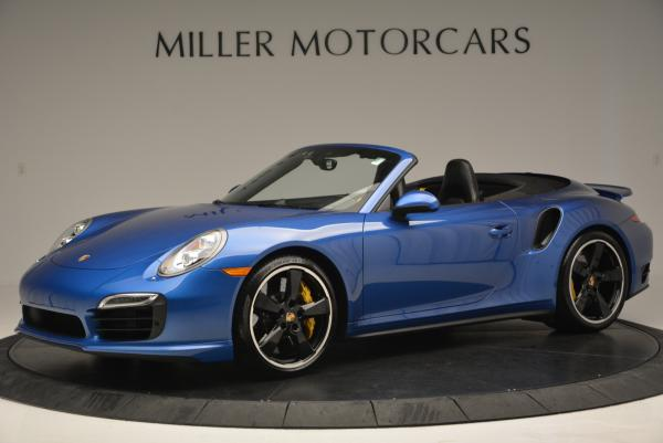 Used 2014 Porsche 911 Turbo S for sale Sold at McLaren Greenwich in Greenwich CT 06830 2