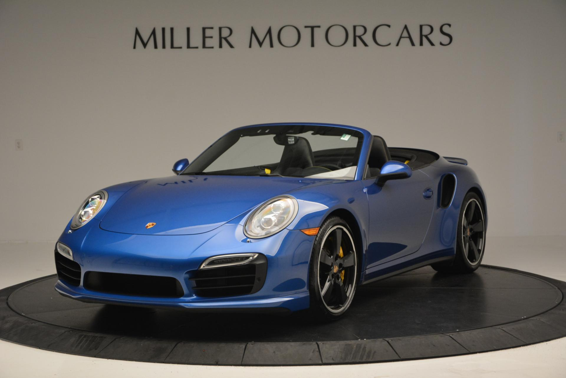 Used 2014 Porsche 911 Turbo S for sale Sold at McLaren Greenwich in Greenwich CT 06830 1