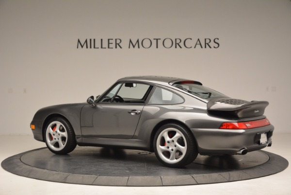 Used 1996 Porsche 911 Turbo for sale Sold at McLaren Greenwich in Greenwich CT 06830 4