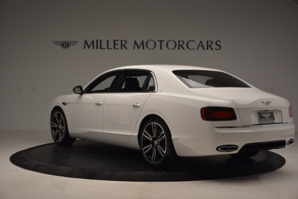 New 2017 Bentley Flying Spur V8 S for sale Sold at McLaren Greenwich in Greenwich CT 06830 4