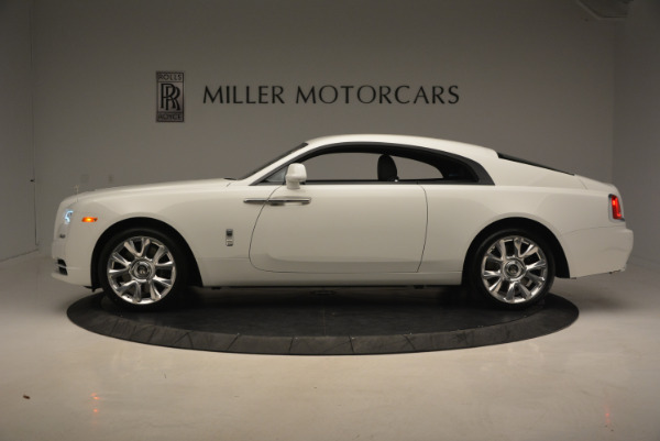 New 2017 Rolls-Royce Wraith for sale Sold at McLaren Greenwich in Greenwich CT 06830 3