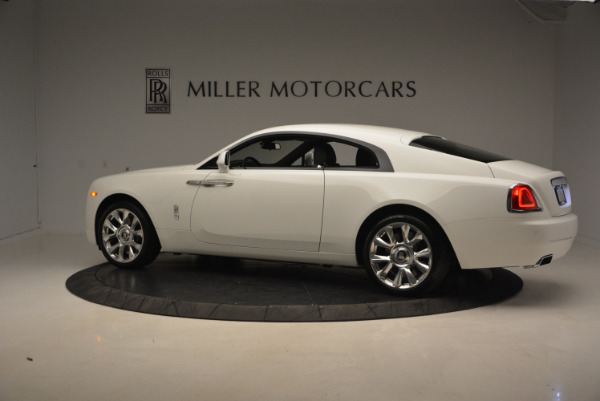 New 2017 Rolls-Royce Wraith for sale Sold at McLaren Greenwich in Greenwich CT 06830 4