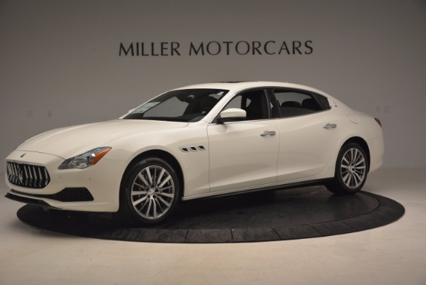 Used 2017 Maserati Quattroporte SQ4 for sale Sold at McLaren Greenwich in Greenwich CT 06830 2