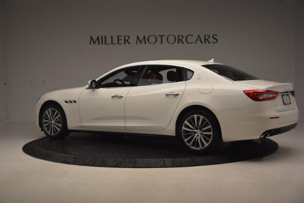 Used 2017 Maserati Quattroporte SQ4 for sale $53,900 at McLaren Greenwich in Greenwich CT 06830 4