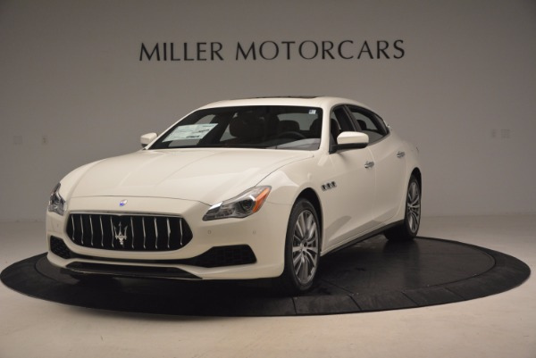 Used 2017 Maserati Quattroporte SQ4 for sale Sold at McLaren Greenwich in Greenwich CT 06830 1