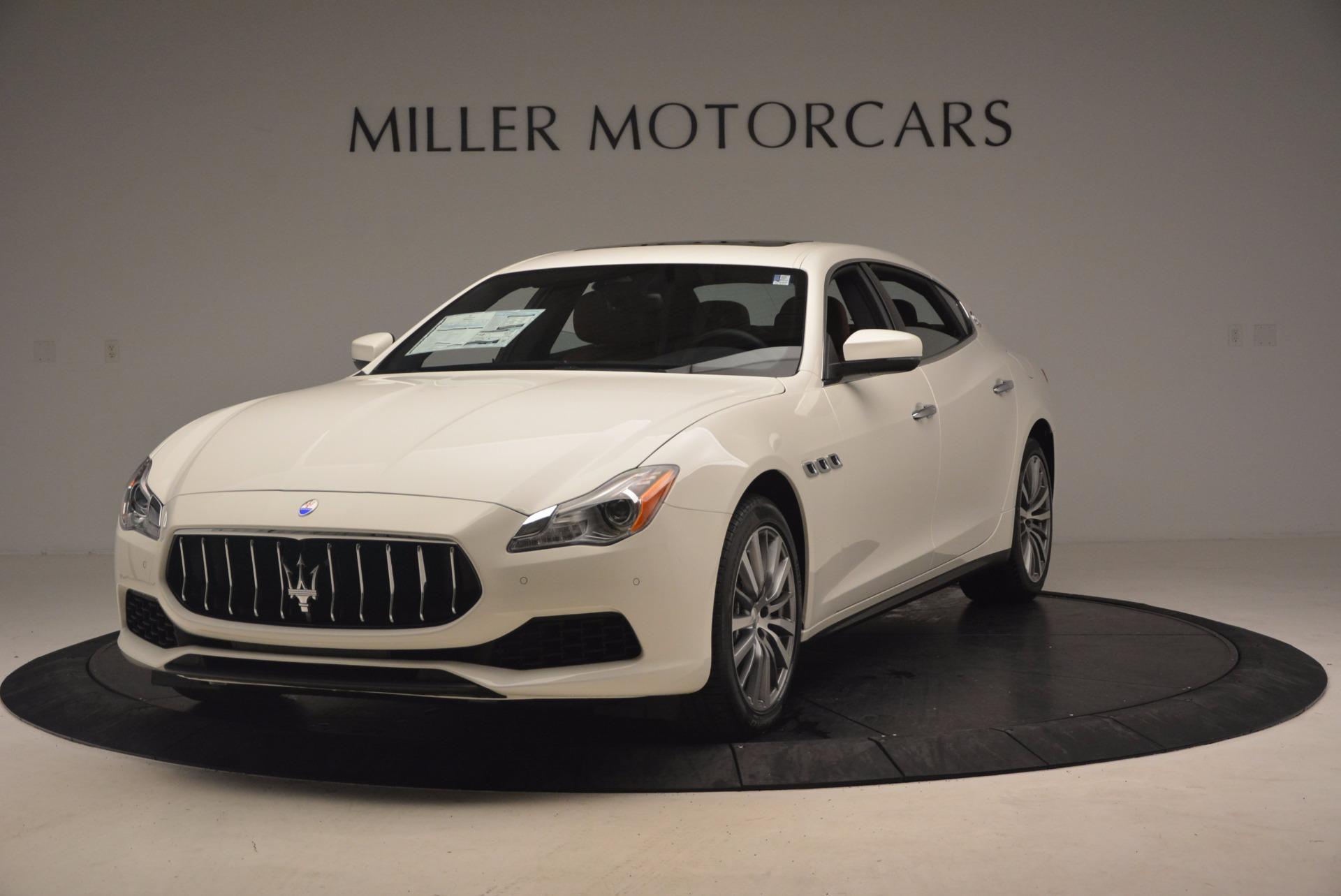 Used 2017 Maserati Quattroporte SQ4 for sale $53,900 at McLaren Greenwich in Greenwich CT 06830 1