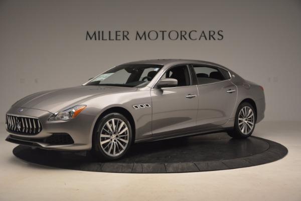 New 2017 Maserati Quattroporte SQ4 for sale Sold at McLaren Greenwich in Greenwich CT 06830 2