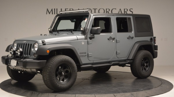 Used 2014 Jeep Wrangler Unlimited Sport for sale Sold at McLaren Greenwich in Greenwich CT 06830 2