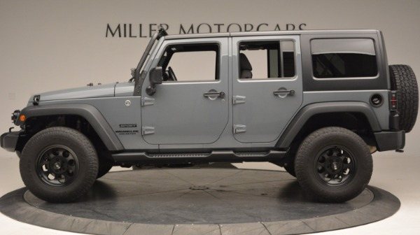 Used 2014 Jeep Wrangler Unlimited Sport for sale Sold at McLaren Greenwich in Greenwich CT 06830 3
