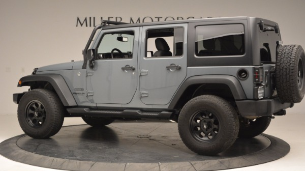 Used 2014 Jeep Wrangler Unlimited Sport for sale Sold at McLaren Greenwich in Greenwich CT 06830 4