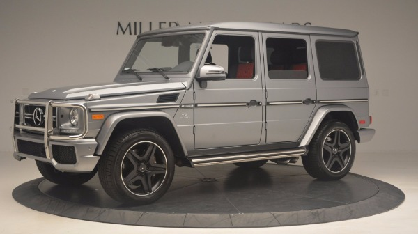 Used 2016 Mercedes Benz G-Class G 63 AMG for sale Sold at McLaren Greenwich in Greenwich CT 06830 2
