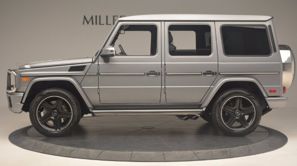 Used 2016 Mercedes Benz G-Class G 63 AMG for sale Sold at McLaren Greenwich in Greenwich CT 06830 3