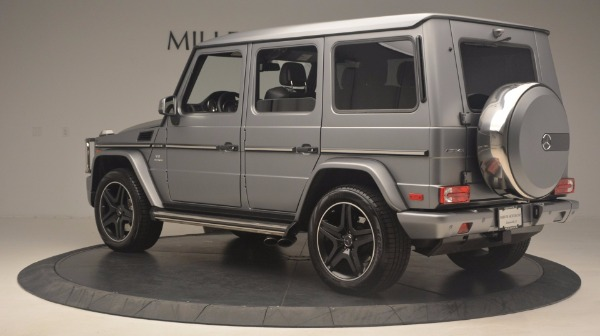 Used 2016 Mercedes Benz G-Class G 63 AMG for sale Sold at McLaren Greenwich in Greenwich CT 06830 4