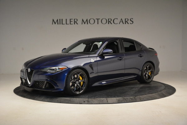 Used 2017 Alfa Romeo Giulia Quadrifoglio for sale Sold at McLaren Greenwich in Greenwich CT 06830 2