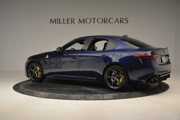 Used 2017 Alfa Romeo Giulia Quadrifoglio for sale Sold at McLaren Greenwich in Greenwich CT 06830 4