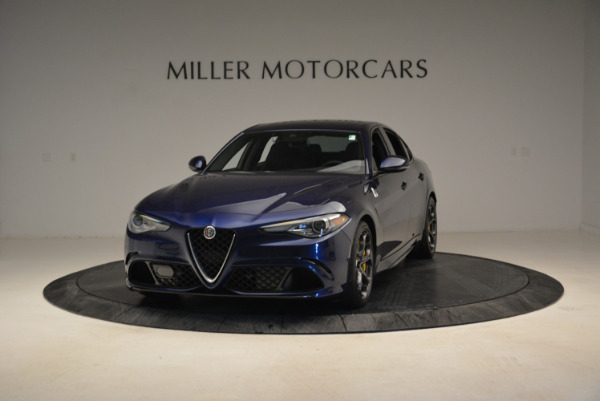 Used 2017 Alfa Romeo Giulia Quadrifoglio for sale Sold at McLaren Greenwich in Greenwich CT 06830 1
