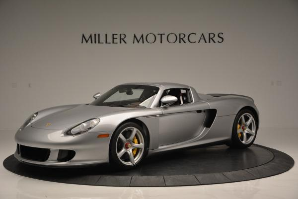 Used 2005 Porsche Carrera GT for sale Sold at McLaren Greenwich in Greenwich CT 06830 1