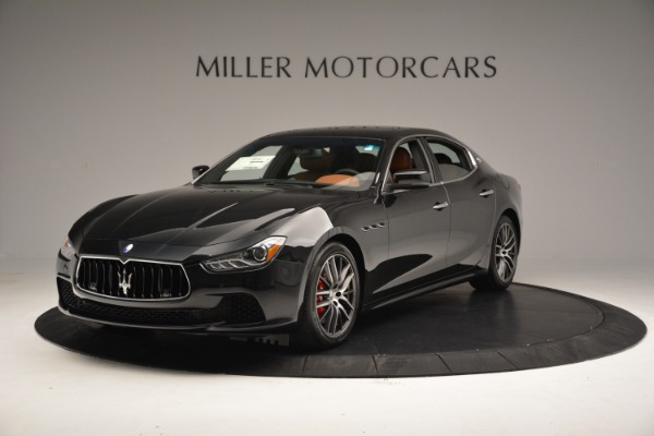 New 2017 Maserati Ghibli SQ4 S Q4 for sale Sold at McLaren Greenwich in Greenwich CT 06830 1