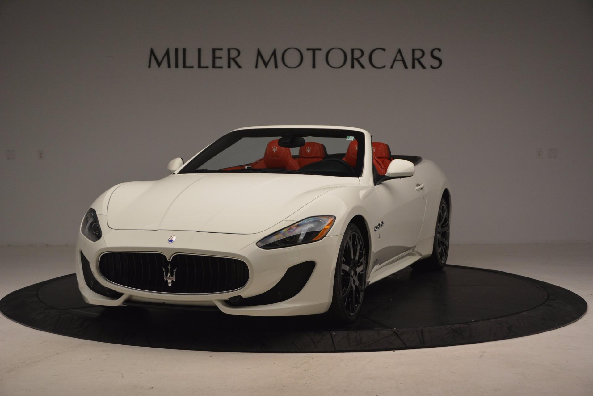 Used 2016 Maserati GranTurismo Sport for sale Sold at McLaren Greenwich in Greenwich CT 06830 1