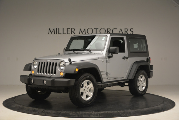 Used 2015 Jeep Wrangler Sport for sale Sold at McLaren Greenwich in Greenwich CT 06830 2