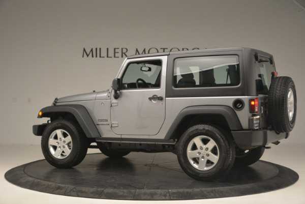 Used 2015 Jeep Wrangler Sport for sale Sold at McLaren Greenwich in Greenwich CT 06830 4