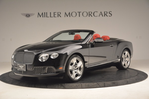 Used 2012 Bentley Continental GT W12 Convertible for sale Sold at McLaren Greenwich in Greenwich CT 06830 2