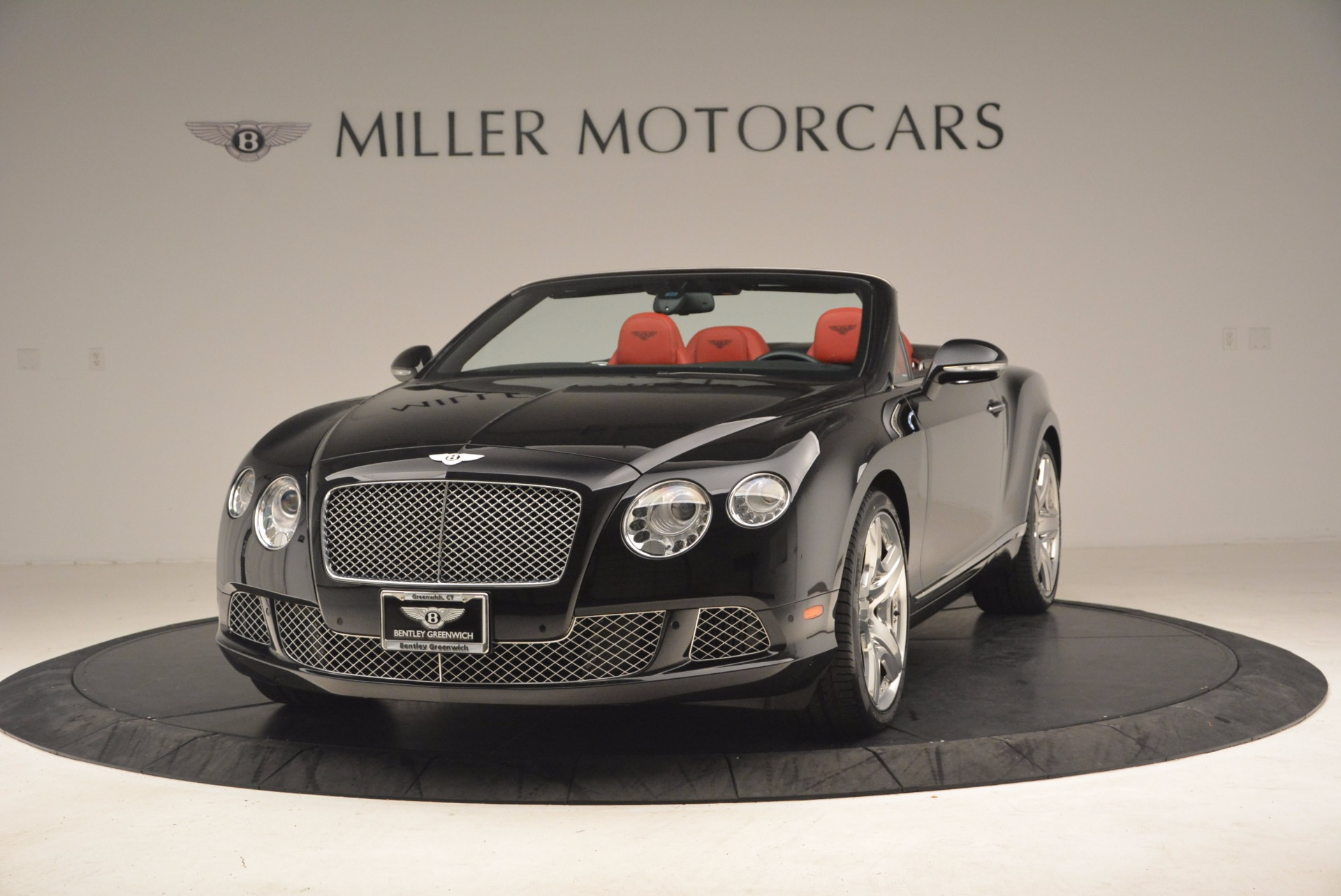 Used 2012 Bentley Continental GT W12 Convertible for sale Sold at McLaren Greenwich in Greenwich CT 06830 1