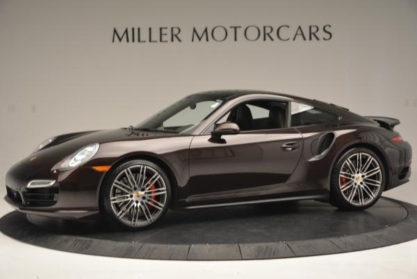 Used 2014 Porsche 911 Turbo for sale Sold at McLaren Greenwich in Greenwich CT 06830 3