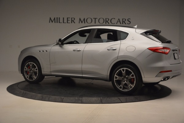Used 2017 Maserati Levante S for sale Sold at McLaren Greenwich in Greenwich CT 06830 4