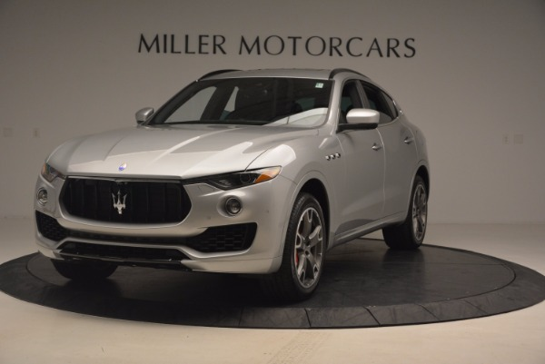 Used 2017 Maserati Levante S for sale Sold at McLaren Greenwich in Greenwich CT 06830 1