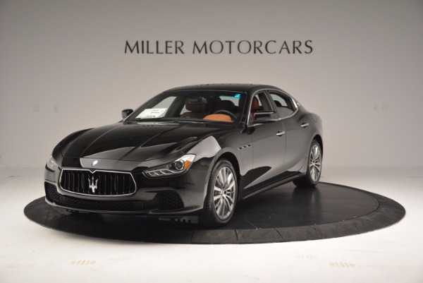 New 2017 Maserati Ghibli S Q4 EX-LOANER for sale Sold at McLaren Greenwich in Greenwich CT 06830 1